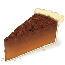 Pecan Pie Clip Art Just Desserts Dessert ...