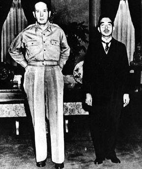 hirohito and macarthur relationship